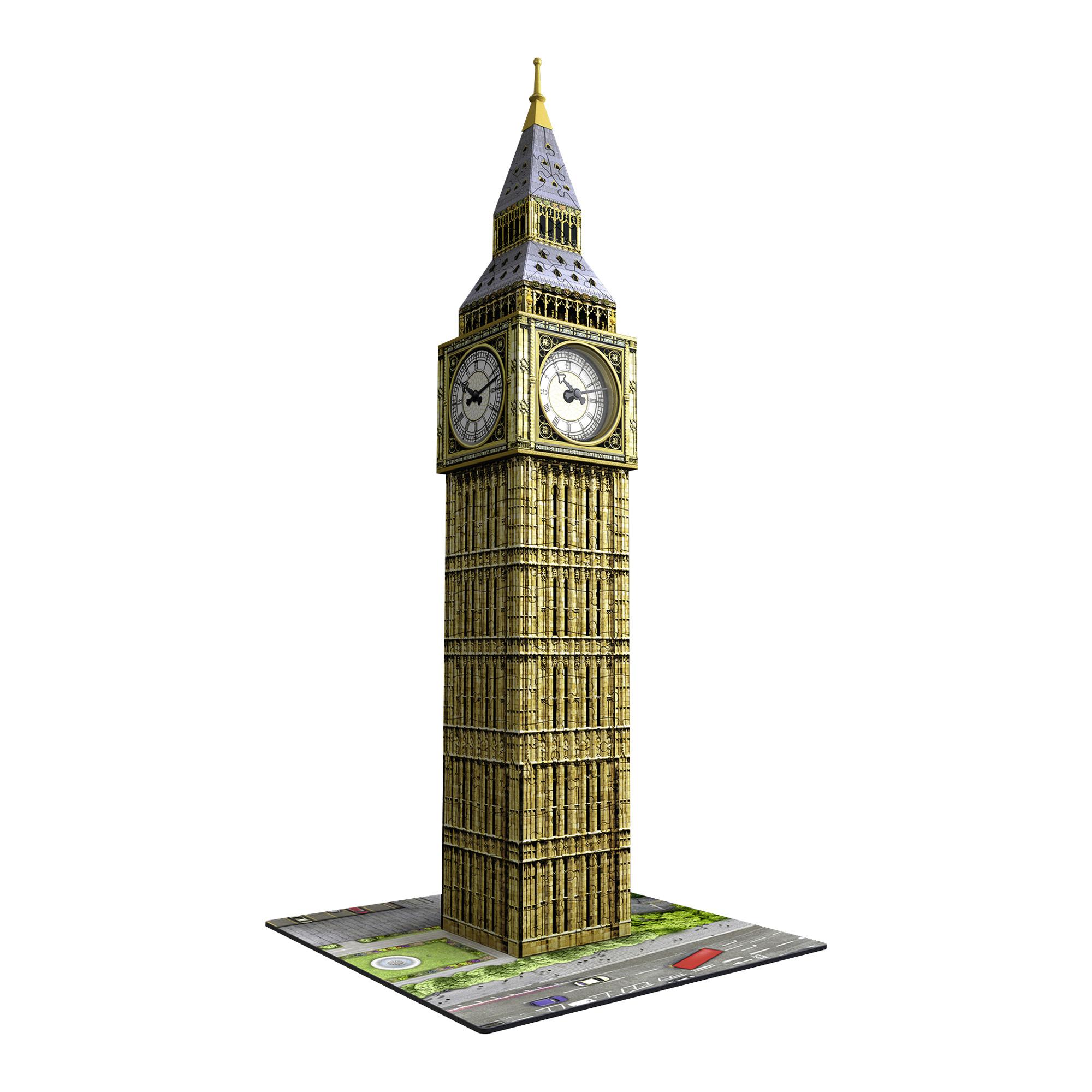 02425942840 3D-pusle Big Ben kellaga - Lauamängud ja pusled - Mänguasjad
