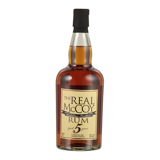 The Real McCoy 5 Year Old Rum 70cl Barbados