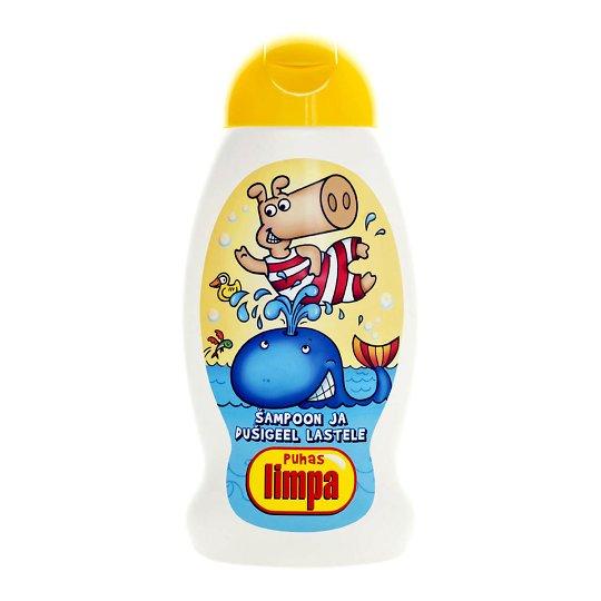 Limpa šampoon ja dušigeel lastele 300ml