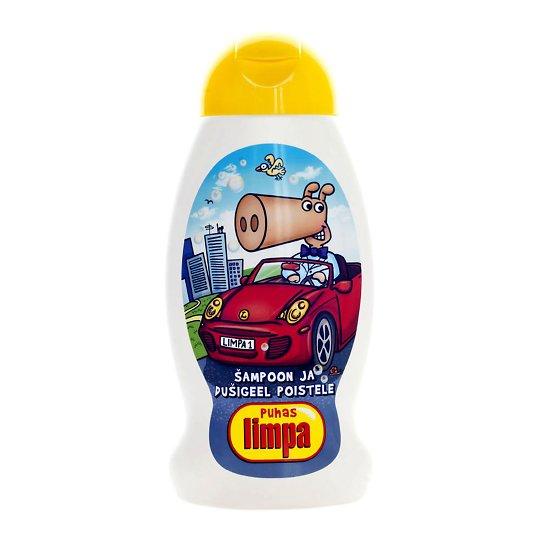 Limpa šampoon ja dušigeel poistele 300ml