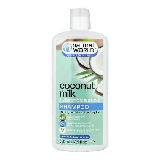 Kookose niisutav ja sära šampoon 500ml