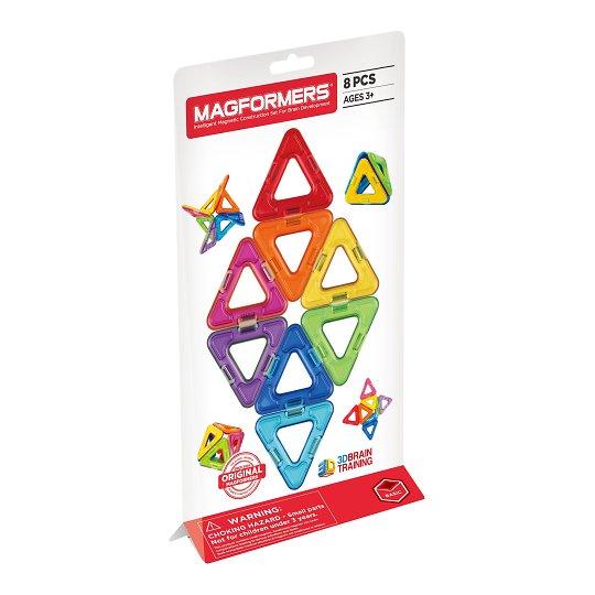 Magnetkonstruktori kolmnurgad 8 tk